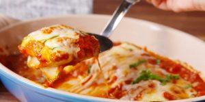 Keto ravioli recept van courgette